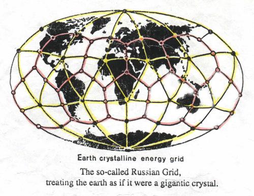 Kristal u centru Zemlje -kristalna energetska mreza