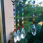 Kristalne fasetovane kugle za prozore i terase
