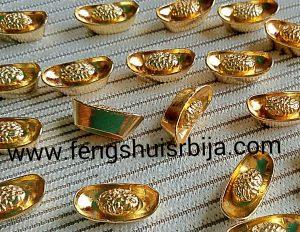 zlatni ingot-drevni kineski novac