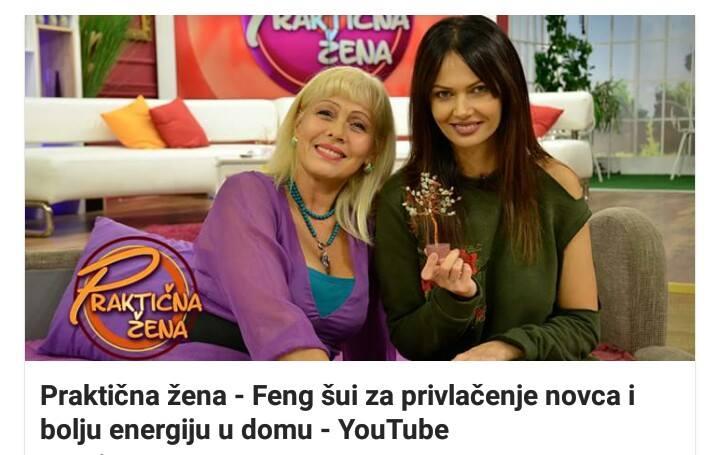 Gostovanje u emisiji Praktična žena-TV PRVA