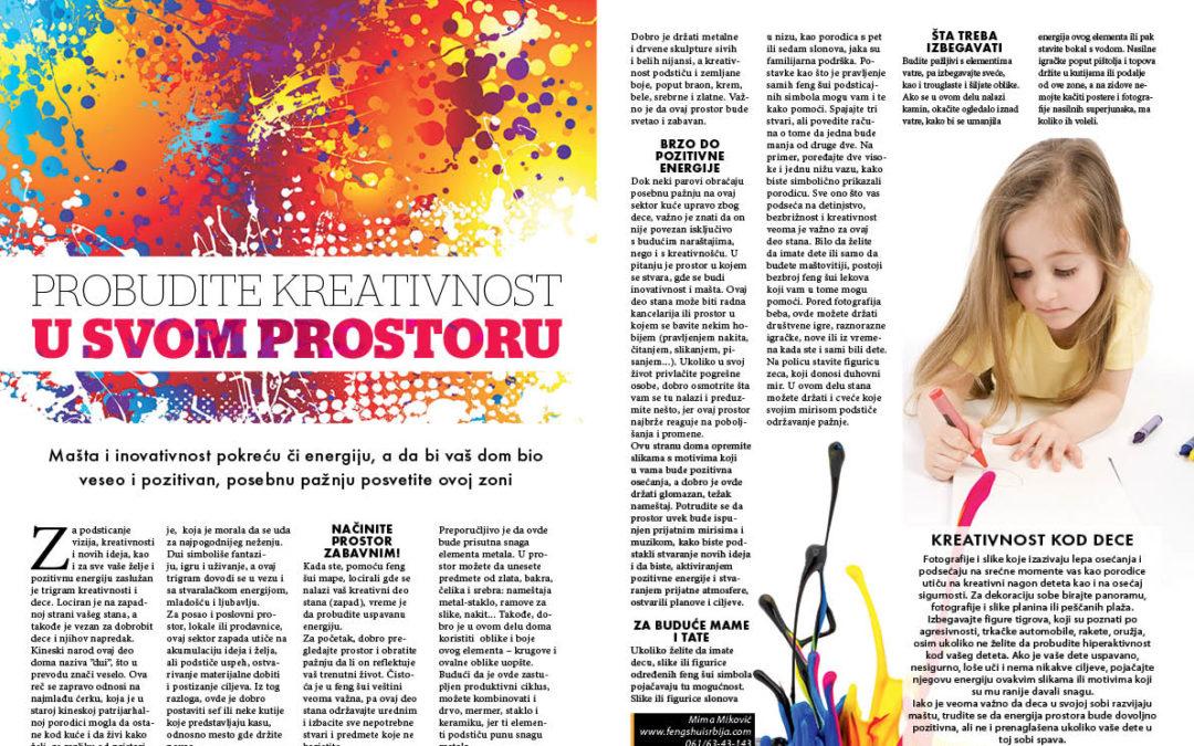 Probudite kreativnost u svom prostoru-magazin