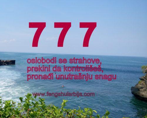 Značenje niza broja 777